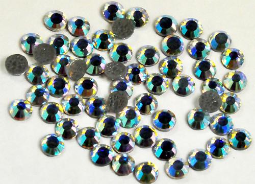 Nažehlovací kamínky krystal AB vel. 4,7 mm