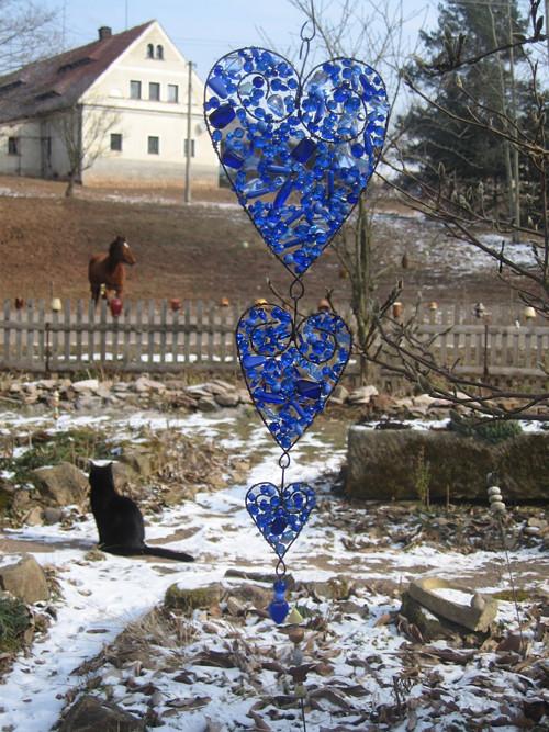 Trocha lásky - Hlubina (tmavě modrá, 40 cm)