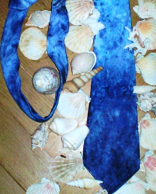 Ručně malovaná kravata ze 100% hedvábí habotai 8