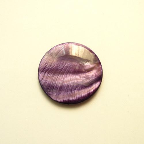 Perleťové kolečko placka 1 ks