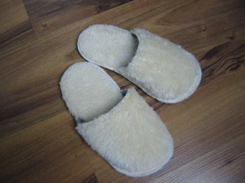 Domácí obuv-papuče