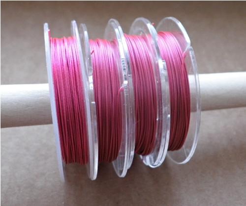 Růžové lanko - 10 m