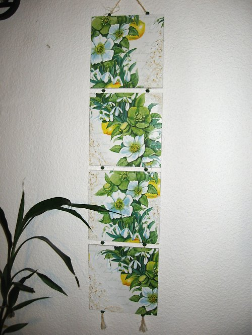 květy a citrusy