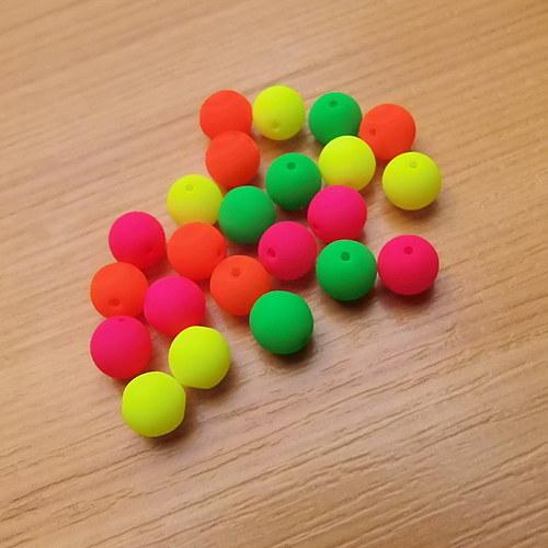 Neonové kuličky 6mm -