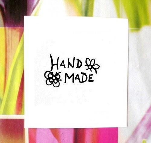 Hand made květy... Omyvatelné.