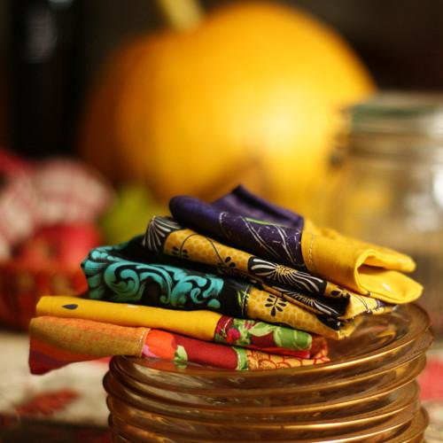 Podzimně & luxusně aneb aneb 5 malých pytlíků