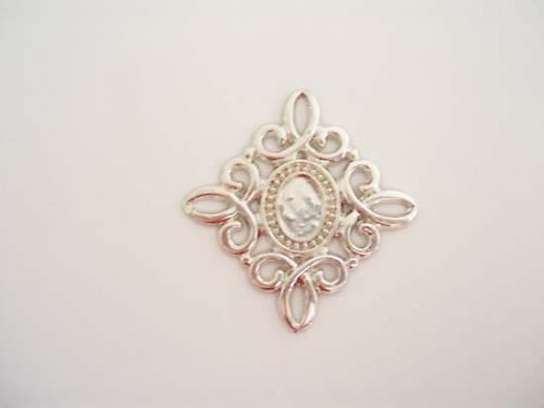 Ornament platina 40×40mm