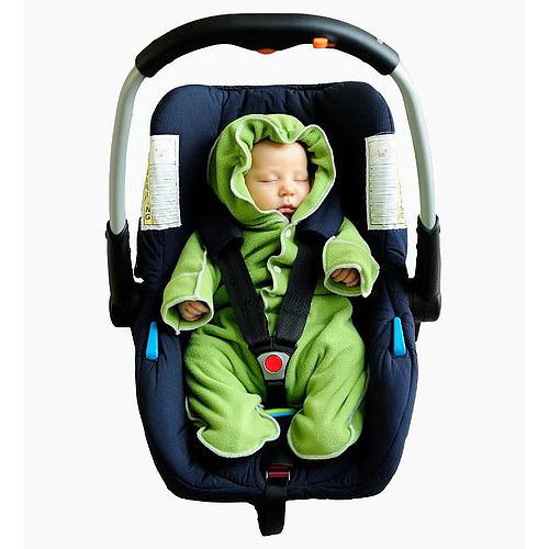 Kombinéza pro miminka vel. 56-62 zelená