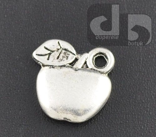 Stříbrný přívěšek - jablíčko 2 ks
