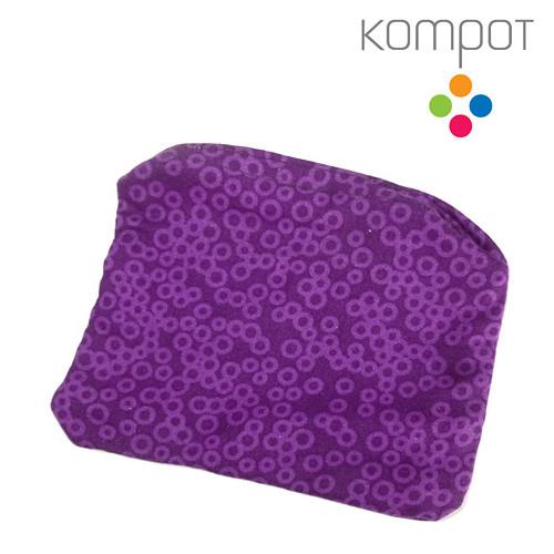 Látková kapsička 238 :: Bublinky, fialové