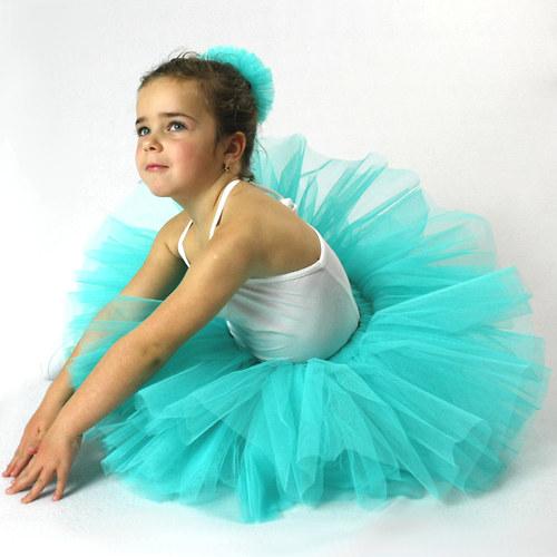 Baletní sukýnka Mentolka