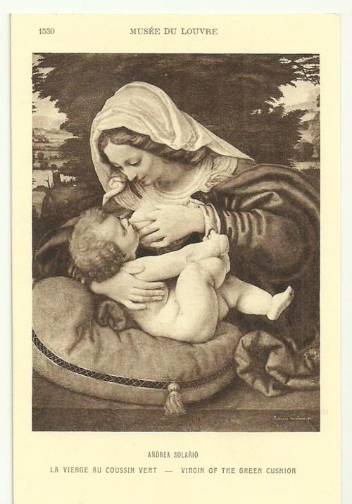 Umělecká pohlednice Andrea Solario