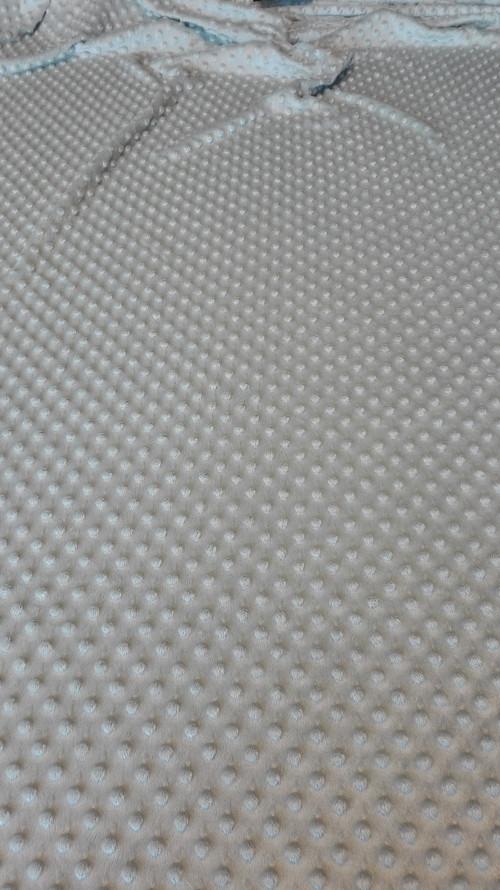 Polar Minky světle šedá-stříbrný