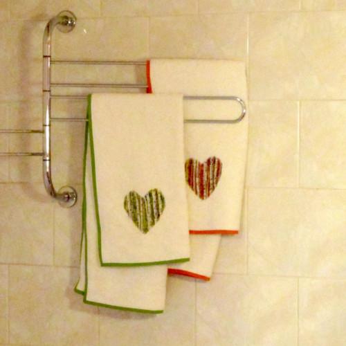 Bambusový ručník - břízy
