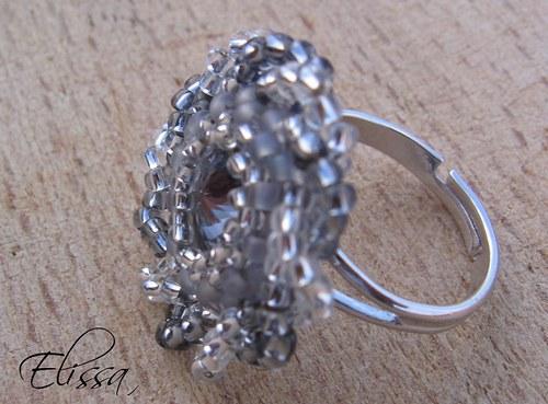 Hvězdičko stříbrná - prsten