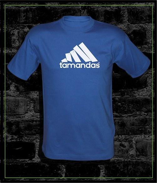 Pánské modré tričko Ťamandas