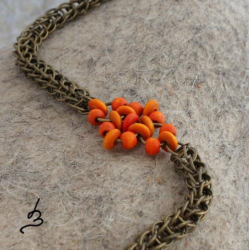 Vintage Orange z kolekce Annelida