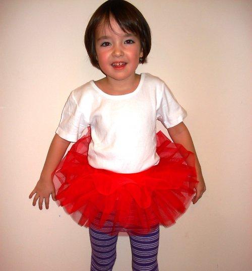 Sukýnka červená (1-3 roky)