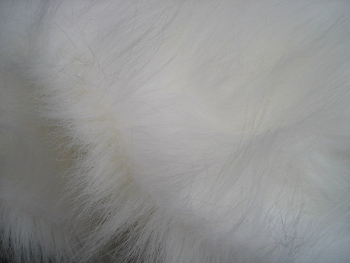 Kožešina liška bílá