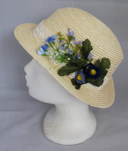 Letní sláměný klobouk