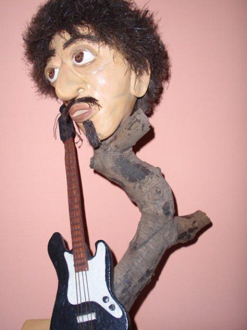 Hudebník Jimy Hendrix