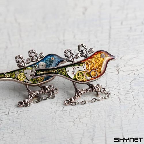 Ptáček jarňáček - brož