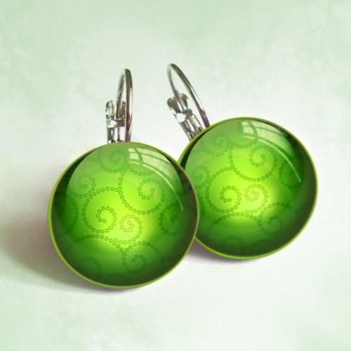 Spirálky - zelené