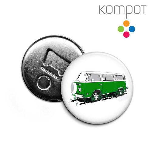Otvírak s minibusem