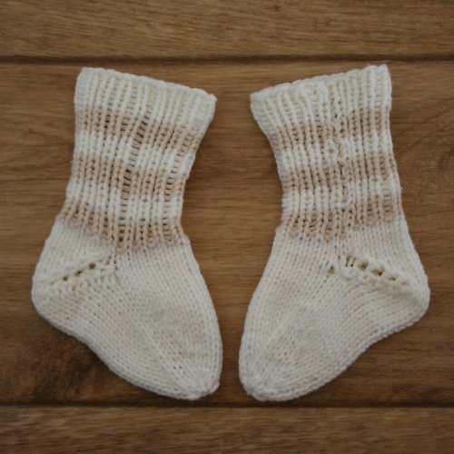Pletené ponožky pro mimi