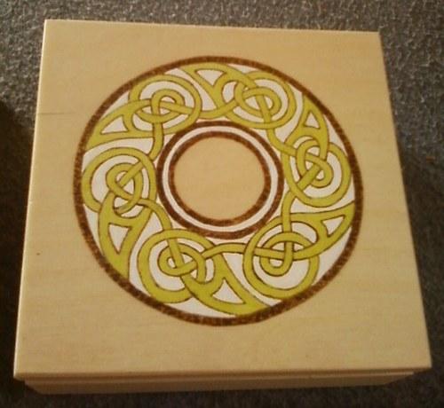 Dárková sada - věštecké kostky v dárkové krabičce