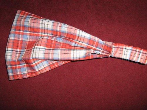 Čelenka-červená kostička