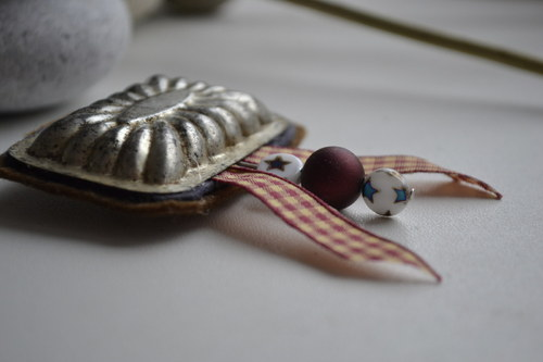 Brož vánoční pracna, formička