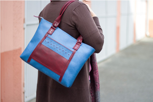 Velká modrá taška II.