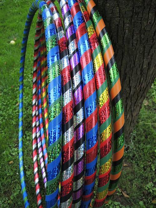 hula hoop fitness 95cm vlastní barvy