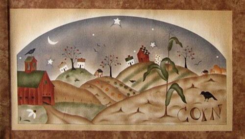 Obrázkový panel - sklizeň - kukuřice