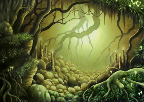 Jeskyně - plakát A3