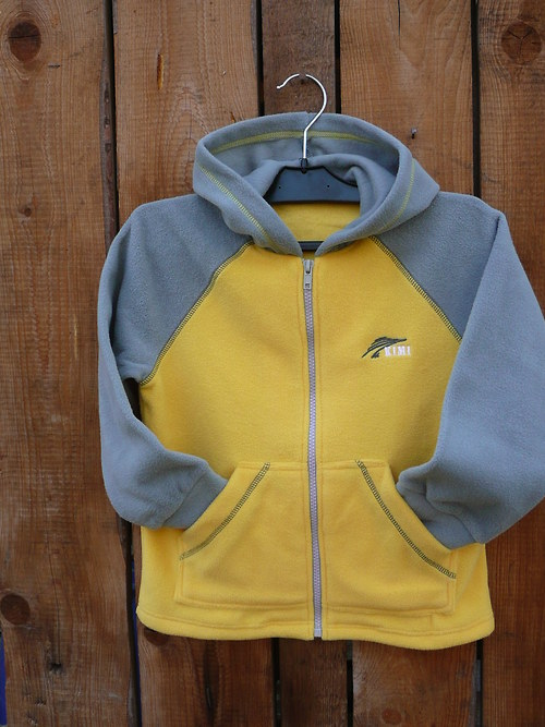 Mikina fleece s kapucí