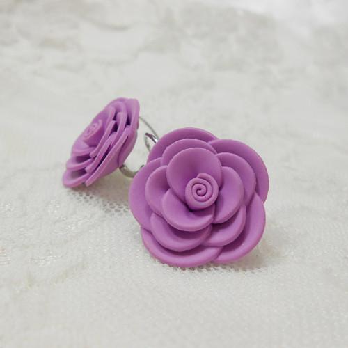 MAXI růžičky fialové