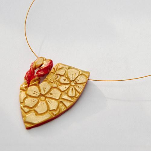 Zlatý náhrdelník č.3
