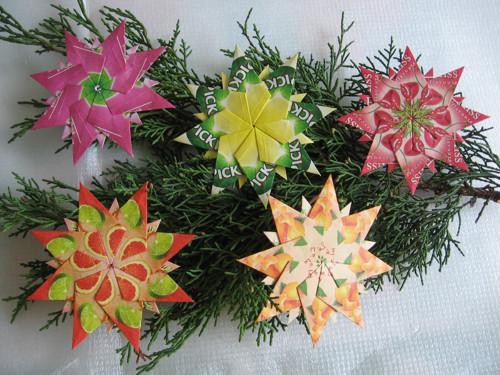 Vánoční kolekce hvězdiček 4 + 1 navíc