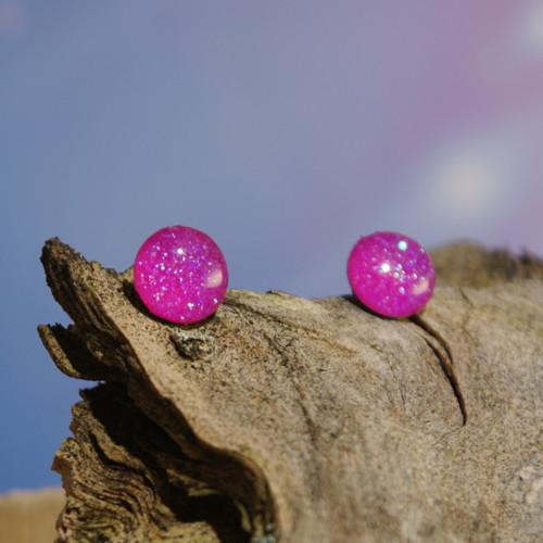 Neonově růžové pecičky PRO ALERGIKY 8 mm