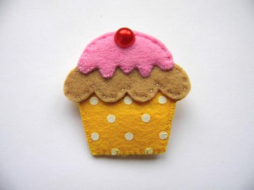 Žlutý muffin