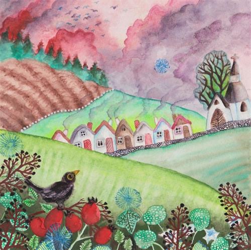 Mezi kopci vesnička