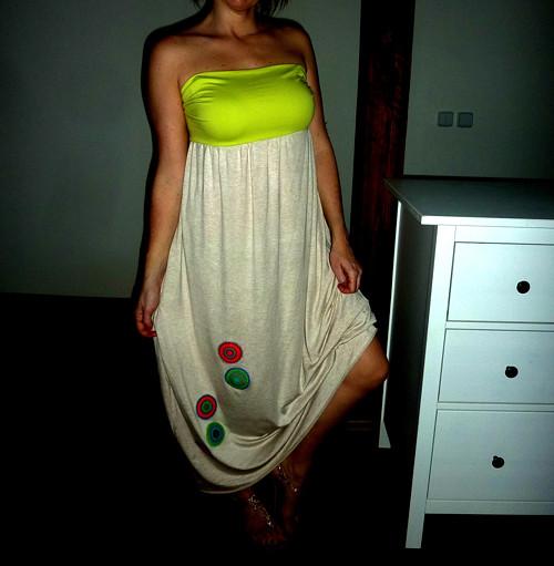 Dasee šaty/sukně 2v1 - jiné barvy na přání