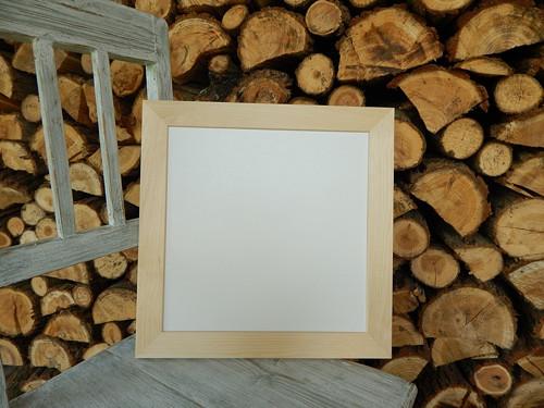 Rám dřevěná lišta 3 cm 32 x 32 cm