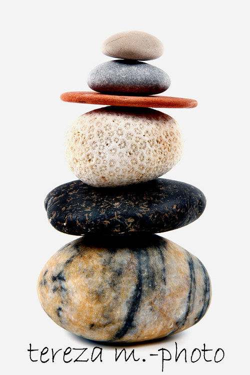 Věž z kamenů