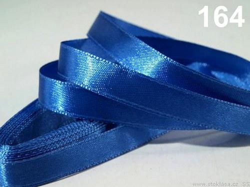 Stuha saténová š.12mm modrá