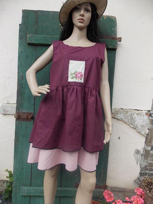 Šaty Roses - SLEVA  699.-Kč(pův.1250.-)