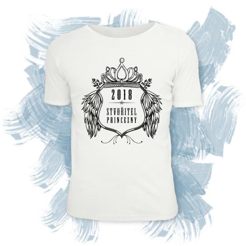 Tričko unisex s motivem stvořitel princezny 2