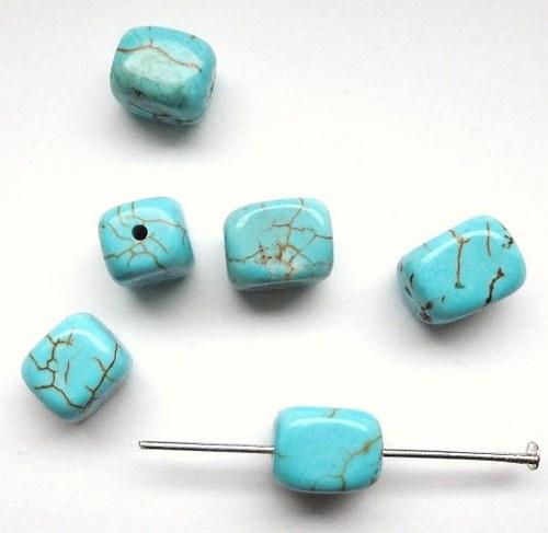 Minerál tyrkys - obdelníček